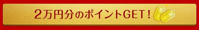 宝船の2万円分のポイントプレゼント